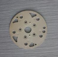 汽车空调阀板